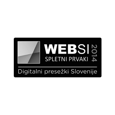 Websi spletni prvak 2014 - 3. mesto