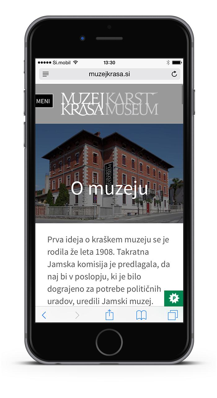 Muzej krasa spletna stran