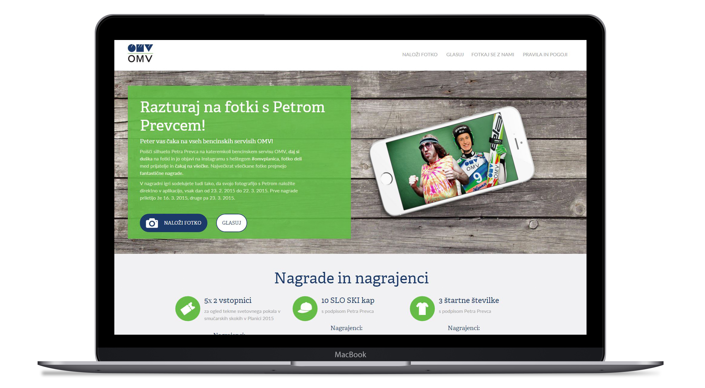 OMV spletni projekti